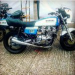 Suzuki GS1000 Blue White Wes Cooley On 2 Wheels