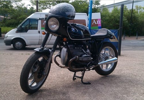 BMW Cafe Racer Faired Black