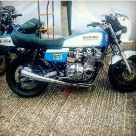 Suzuki GS1000 – Blue/White Wes Cooley Style